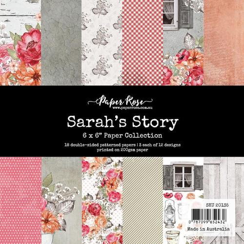 6x6 paper pack - sarah's story