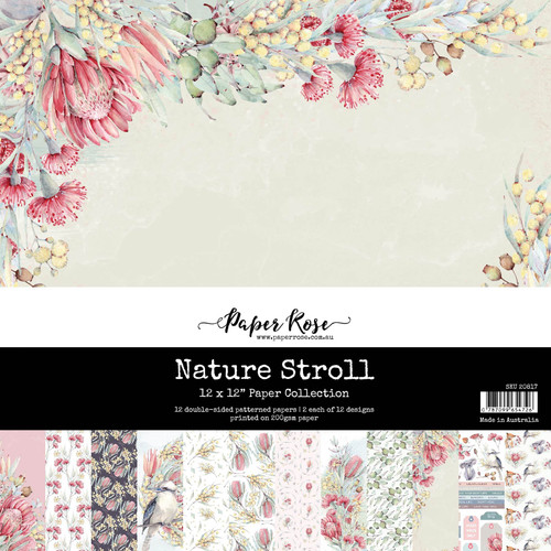 12x12 paper pack - nature scroll