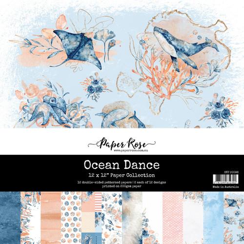 12x12 paper pack - ocean dance