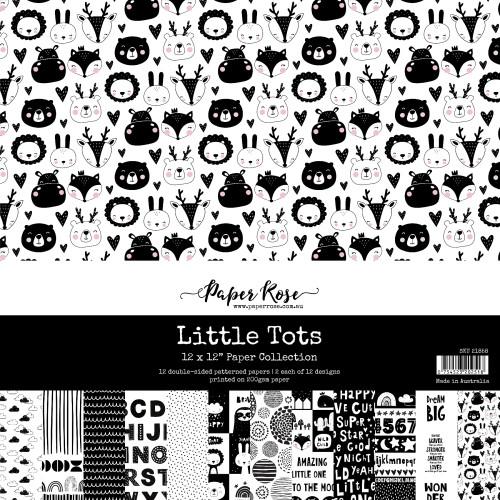 12x12 paper pack - little tots
