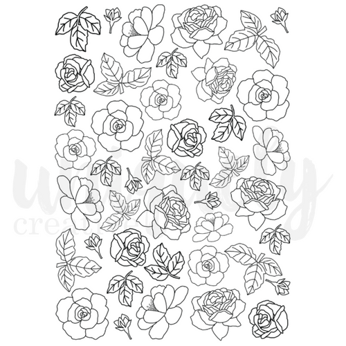 roots & wings cut-a-part sheet watercolour