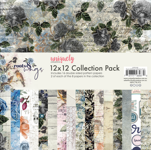roots & wings 12x12 collection pack