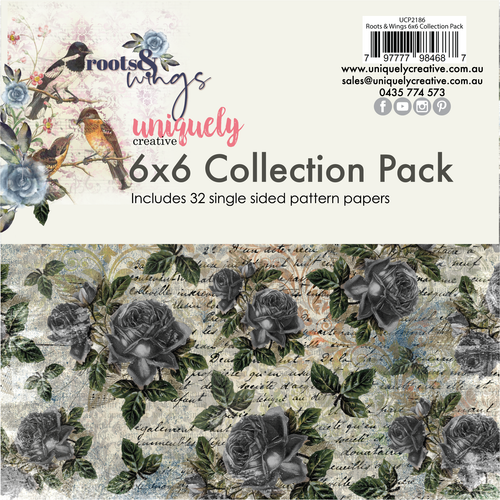 roots & wings 6x6 collection pack