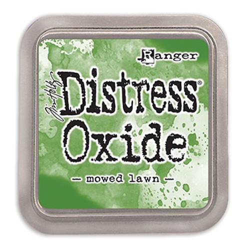 distress oxide mowed lawn