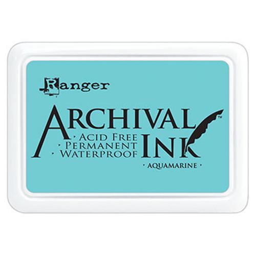 archival ink aquamarine