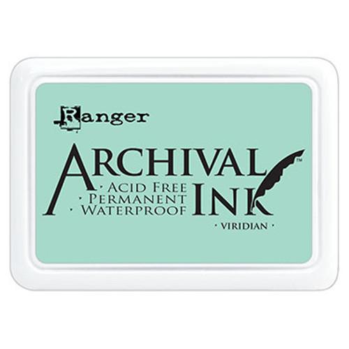 archival ink viridian