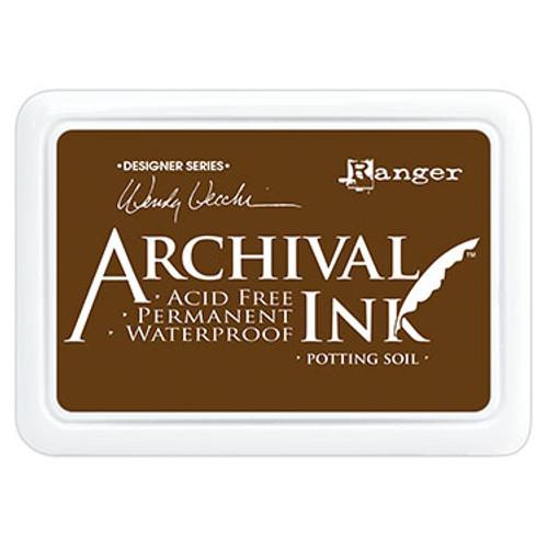archival ink potting soil