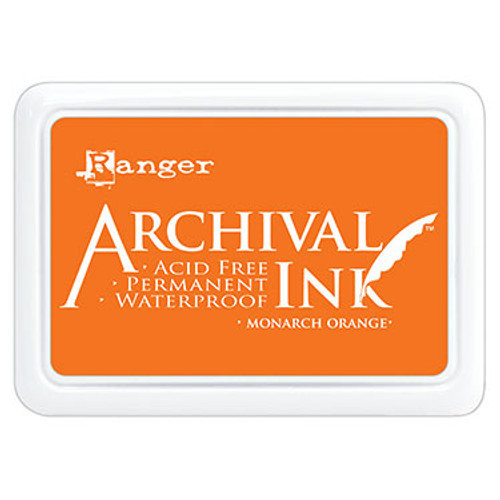 archival ink monarch orange