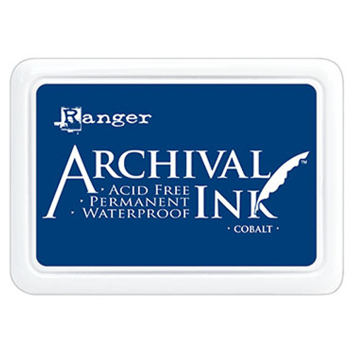 archival ink cobalt