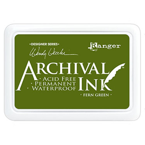 archival ink fern green