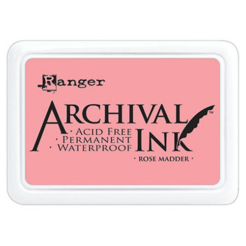 archival ink rose madder