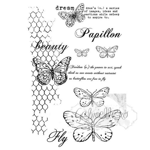 gabi's butterflies are free stamp set