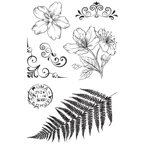 fern, flowers & flourishes