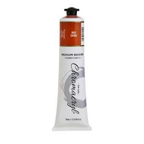 chromacryl red oxide