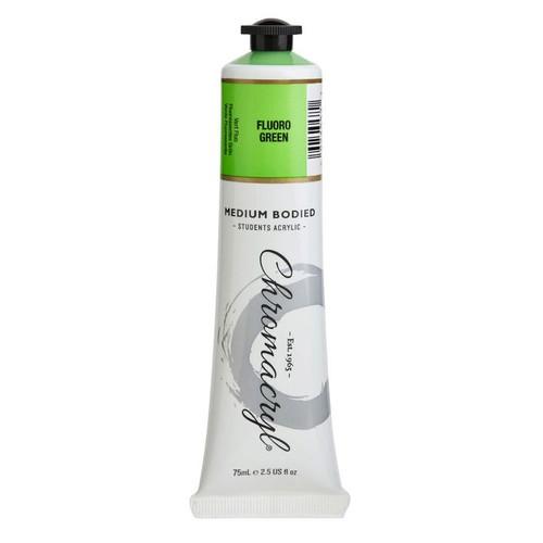 chromacryl fluro green