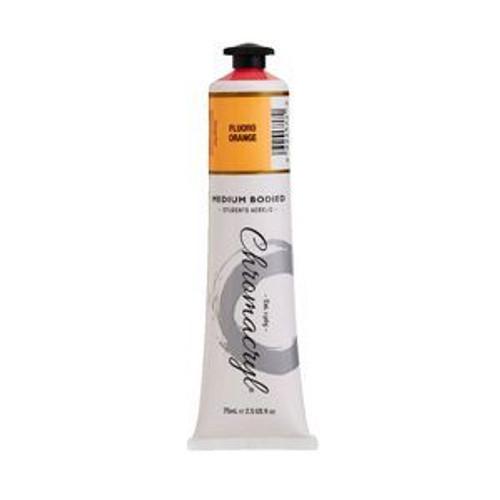 chromacryl fluro orange