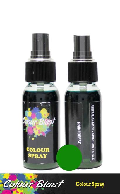 colour spray rainforest