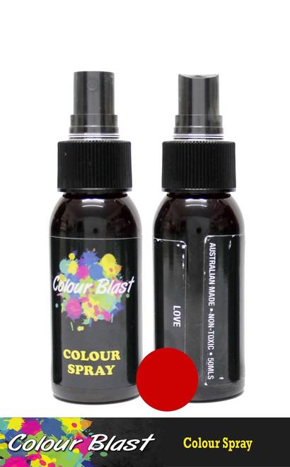 colour spray love