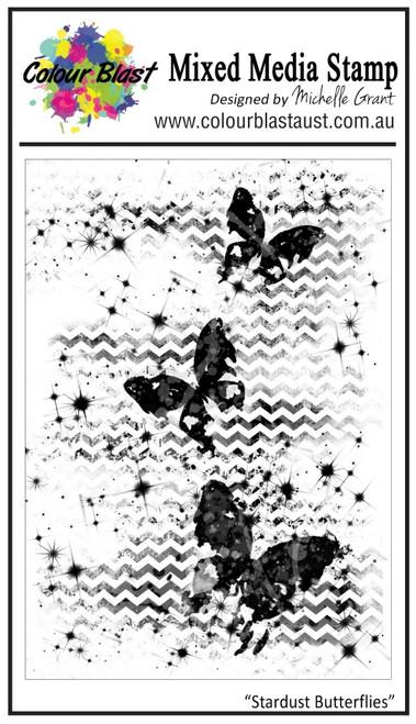 stardust butterflies stamp set
