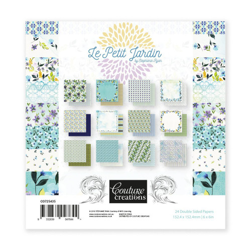 le petit jardin 6x6 paper pad