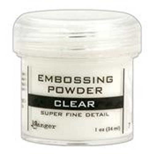 ranger embossing powder clear