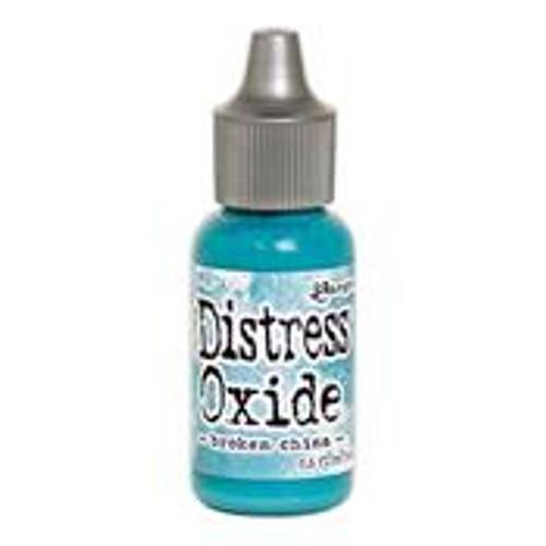 distress oxide reinker broken china
