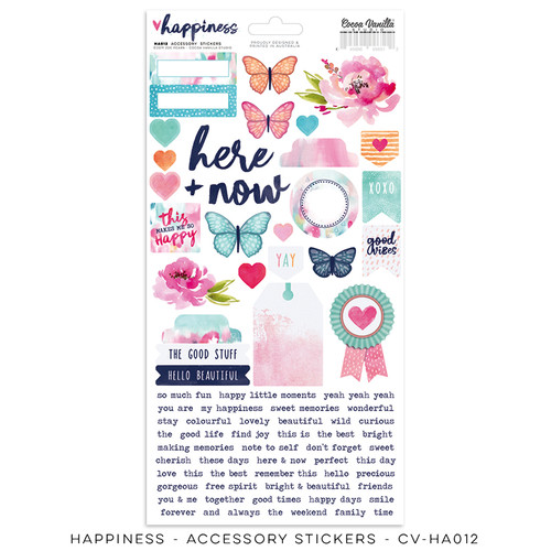 happiness accessory stickers