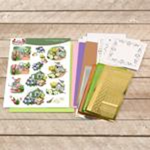 dot and do decoupage set - garden