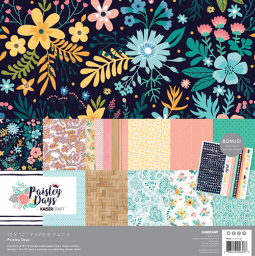 paisley days paper pack
