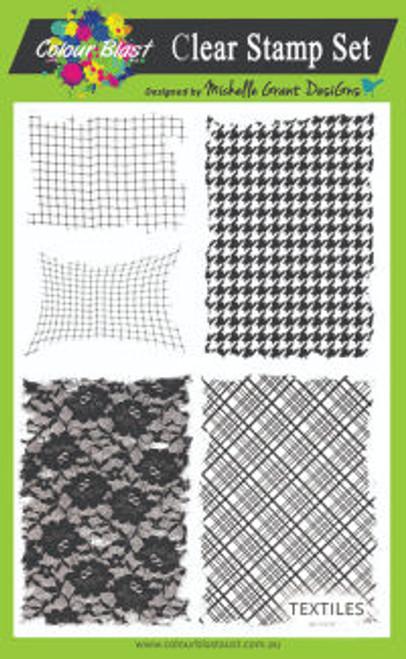 trendsetter - textile stamp set