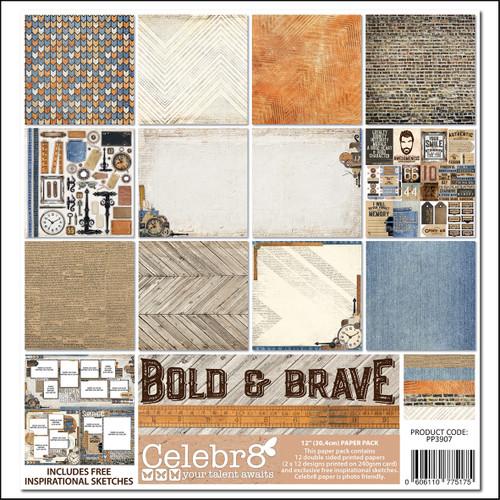 bold & brave paper pack