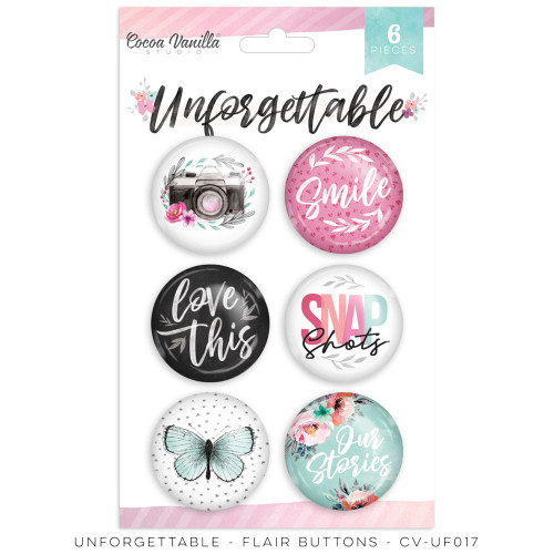 unforgettable - flair buttons