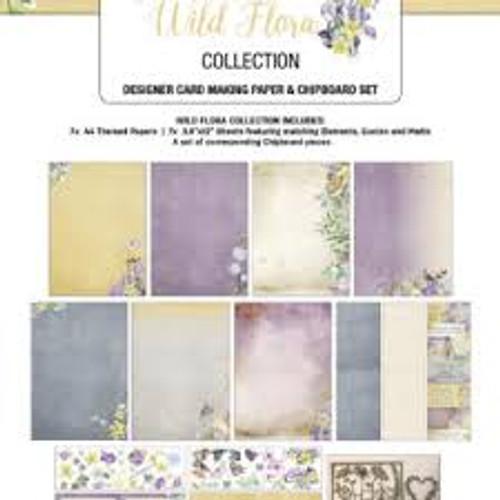 wild flora designer  card making kit