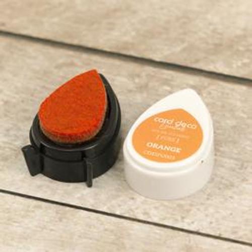 card deco essentials dye ink - orange