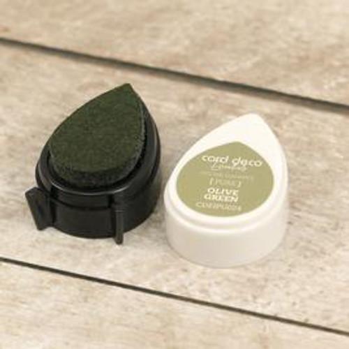 card deco essentials dye ink - olive green