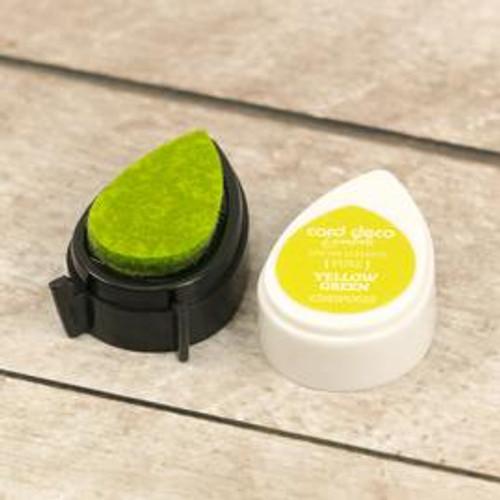 card deco essentials dye ink - yellow green