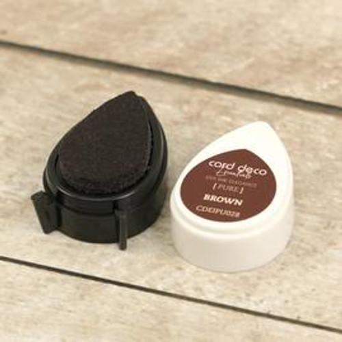 card deco essentials dye ink - brown