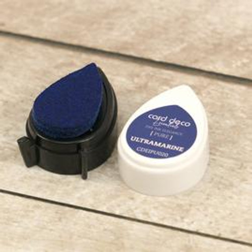 card deco essentials dye ink - ultramarine
