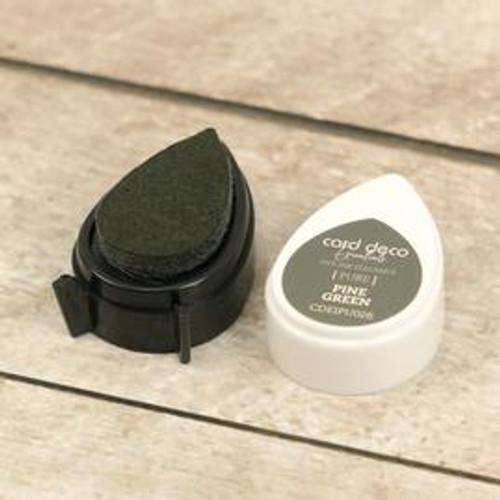 card deco essentials dye ink - pine green
