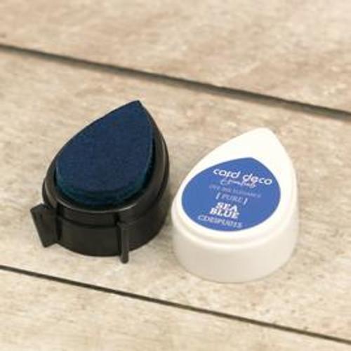 card deco essentials dye ink - sea blue