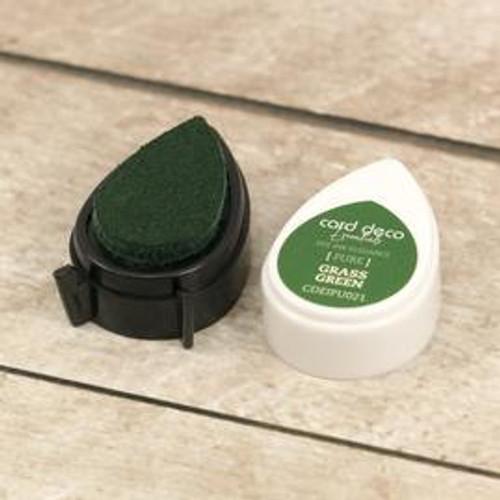 card deco essentials dye ink - grass green