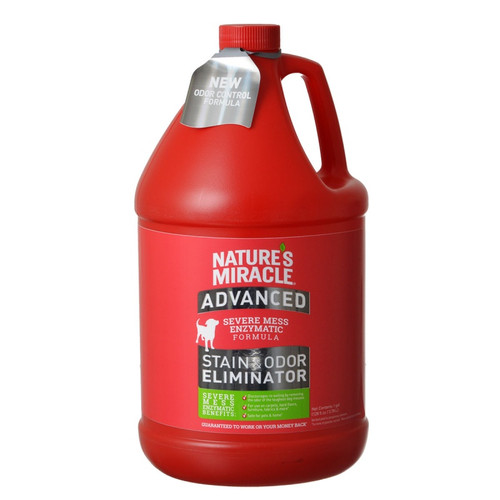 1 Gallon of Nature's Miracle Advanced Stain & Odor Eliminator