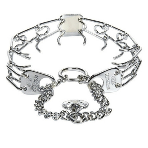 Chrome Silver, Herm-Sprenger Prong Collar used for Training dogs.