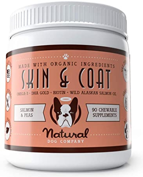 Skin & Coat Supplement by Naural Dog Company