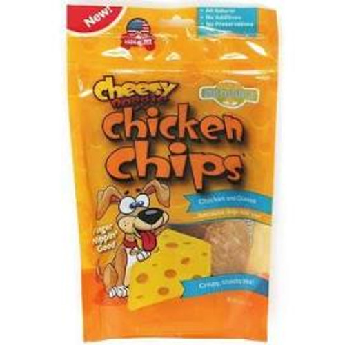 Doggie Chicken Chips Cheesy Flavor