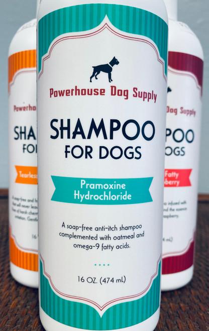 Powerhouse Shampoo Pramoxine Hydrochloride