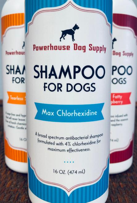 Powerhouse Shampoo Max Chlorhexidine