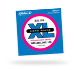 Exl170 Bass Strings - Nickel Wound Regular Light 045 100 Gauge