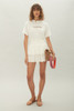 Nelly Skirt - Ivory Anglaise