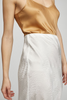 BIAS CUT SKIRT - IVORY JACQUARD
